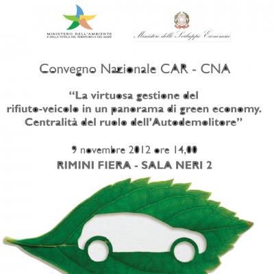 70x100 CAR_poster ecomondo 2012